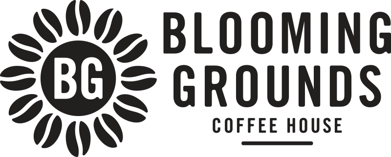 Blooming Grounds Coffee House Logo