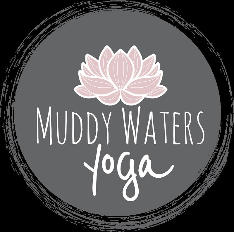 Muddy Waters Yoga Logo
