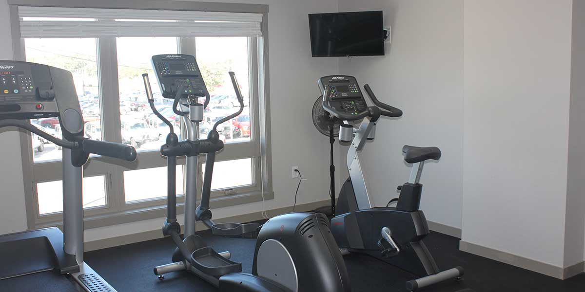Island City Properties Workout Room